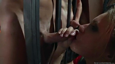 Prison, Multiple, French milf, Prisoner