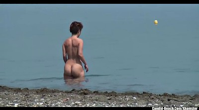 Nudist, Nudist beach, Afraid
