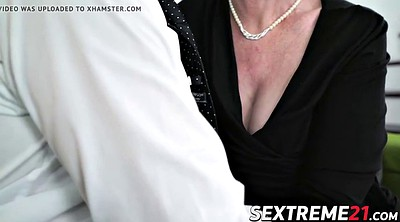 Old, Pixie, Mature young, Lucky, Horny granny