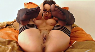 Stockings, Orgasm, Masturbation stocking