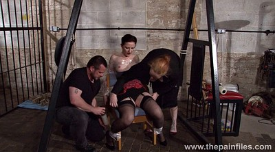 Spanked, Bondage, Chair bondage, Ties, Screaming