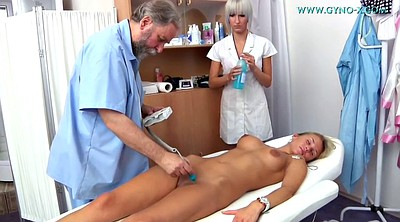 Gyno, Laura, Sex toys, Examine, Teen doctor, Examination