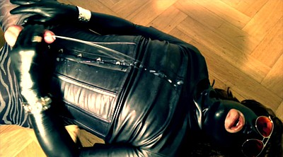 Latex, Crossdresser, Gloves, Amateur crossdresser