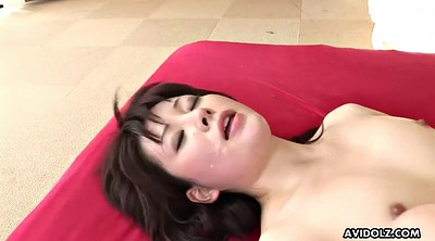 Japanese double, Hairy pussy creampie, Asian double