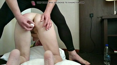 Hairy mature, Shy, Anal granny