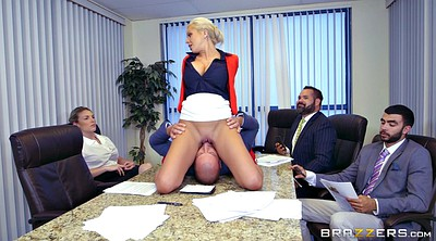 Office, Boss, Nina elle, German milf office