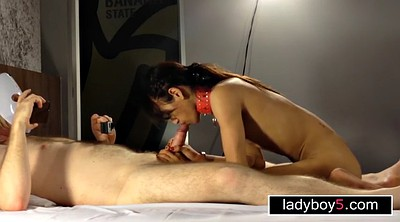 Asian, Ladyboy, In front of, Asian shemale