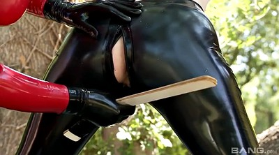 Mistress t, Paige, Latex lesbian, Lesbian slave, Sex slave, Latex lucy