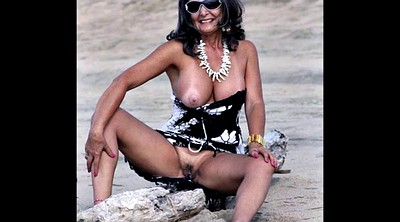 Granny, Mature beach