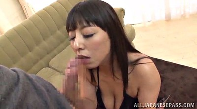 High heels, Asian handjob, Tit job