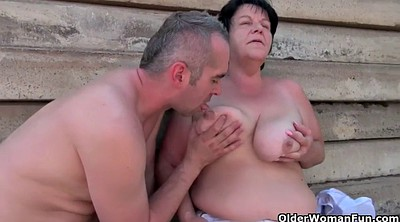 Young, Mature outdoor, Old granny, Old fat, Fat granny
