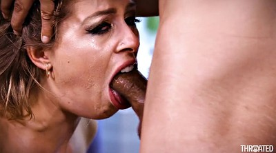 Interracial, Deepthroat