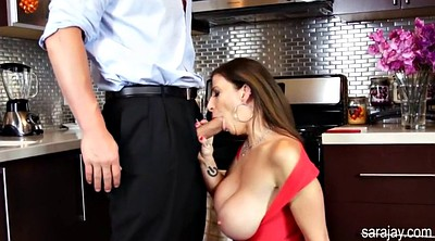Sara jay, Milfs in kitchen