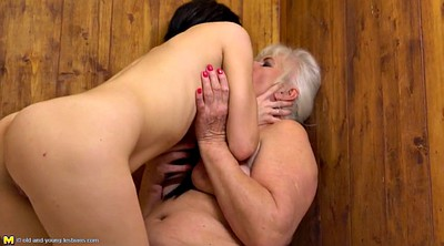 Old young, Seduce, Old young lesbian, Mature lesbian seduce, Granny lesbian, Old lesbian