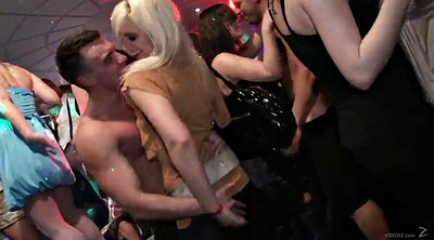 Handjob, Upskirts, Skirt, Interracial party