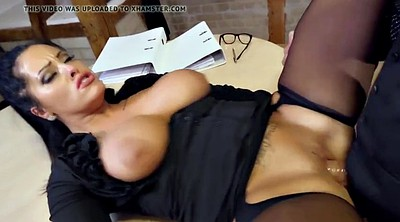 German, Secretary, Eating, Milf secretary