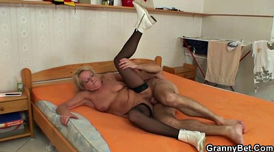 Stocking mature, Blonde stockings