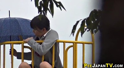Japanese student, Japanese students, Japanese pee, Japanese outdoor