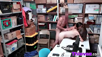 Office threesome, Jasmine, Asian office, Ariel