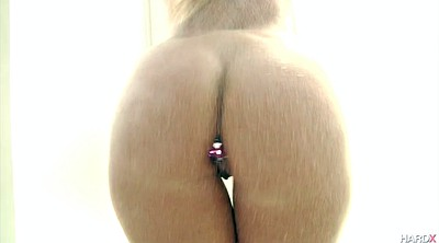 Solo anal, Toy anal, Panty teasing, Panties tease, Butt plug