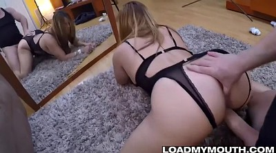 Swallowed, Curve, Blowjob amateur