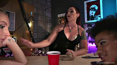 Double, Beautiful, Bdsm fisting, Bar, Fisting femdom