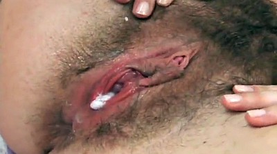 Hairy pussy, Creampie compilation, Hairy creampie