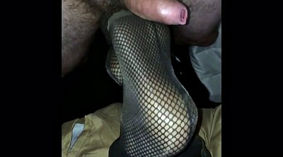 Nylon, Nylon foot, Nylon feet, Nylon footjob, Foot nylon