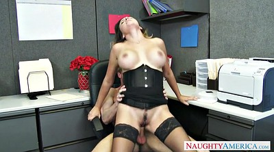 Boss, Secretary, Office stockings, Corset