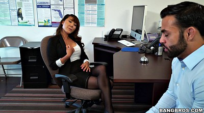 Boss, Tiffany rain, Asian leg, Leggings, Officer, Clothed