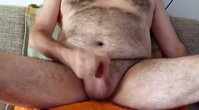 Chubby gay, Erection