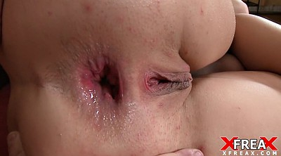 Anal creampie, Live