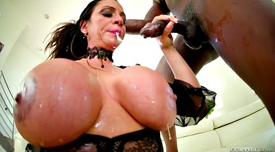 Mouth, Ariella ferrera, Huge cock, Ferrera