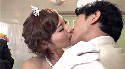 Japanese wife, Asian creampie, Bride