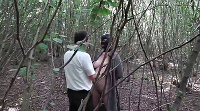Forest, Wife and stranger, Slut wife