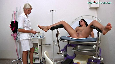 Lesbian doctor, Office sex, Funny