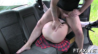 Fake taxi, Car blowjob