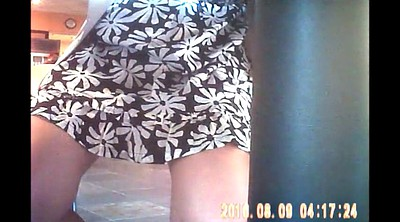 Upskirt, Under, Under table, Students