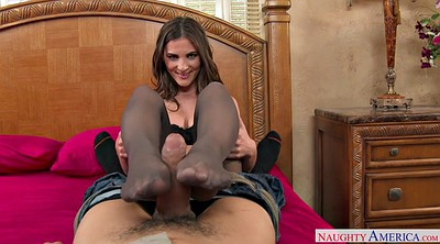 Pantyhose feet, Pantyhose footjob, Molly jane