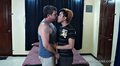Dad, Cumshot, Gay old, Asian old, Young dad, Old asian