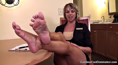 Foot job, Job, Interview