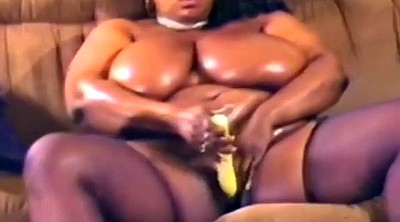 Black solo, Huge tits