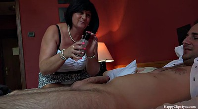 Taboo, Mom handjob, Mom foot, Young and old, Mom friend, Friend mom