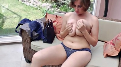 Mature pissing, Big tits dildo, Mature piss