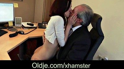 Boss, Cum kiss, Cum in throat, Horny