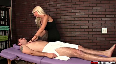 Mature, Femdom handjob, Blindfold, Mature massage, Handjob mature