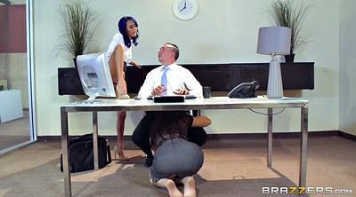 Janice griffith, Aidra fox, Lana rhoades, Boss, Riley reid, Secretary