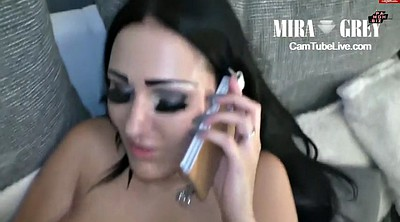 Boss, Phone, Interracial webcam