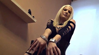 Footing, Dirty talk, Femdom foot, German dirty talk, Dirty foot