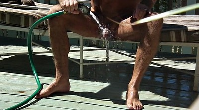 Enema, Outdoors, Enemas, Hose, Gay enema